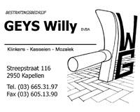 Bestratingsbedrijf Willy Geys