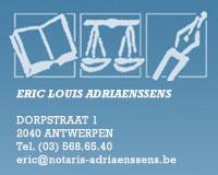 Notariskantoor Eric Adriaensens